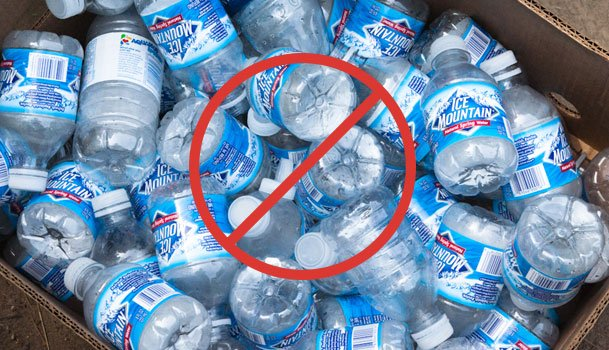 Crush The Need for Plastic Bottles! use structured revitalization water units